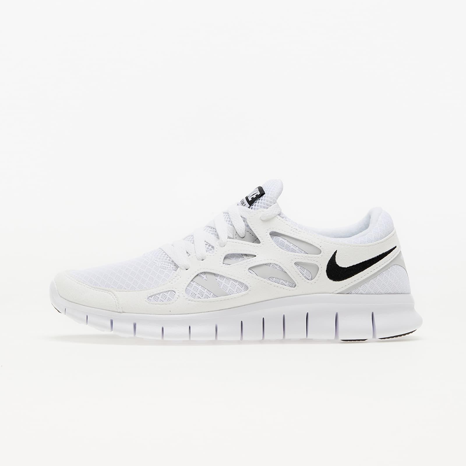 Nike Free Run 2 White/ Black-Pure Platinum EUR 41