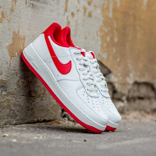 Nike Air Force 1 Low Retro Summit WhiteUniversity Red For Sale