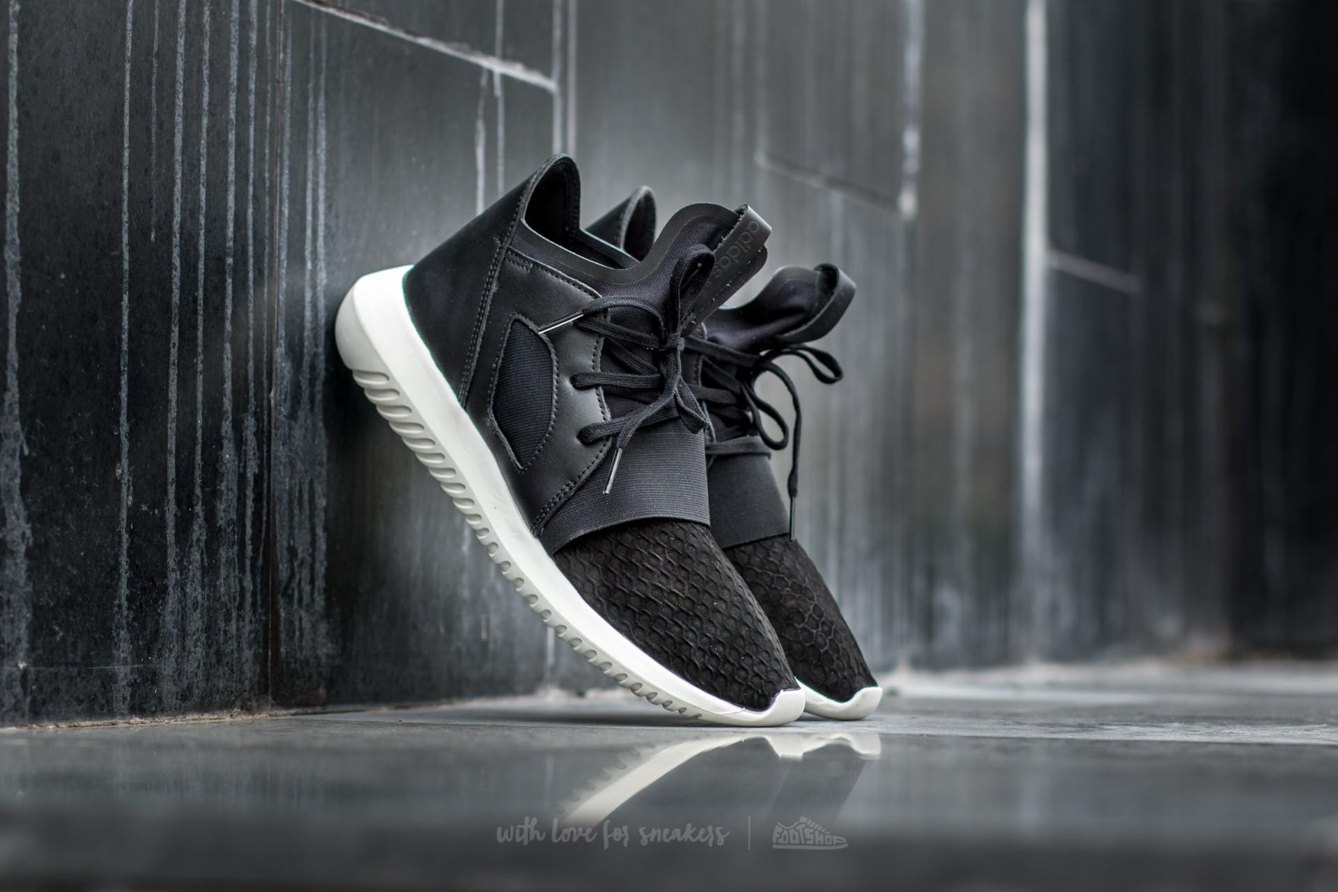 b5375e79732 adidas Tubular Defiant W Core Black  Core Black  Off White