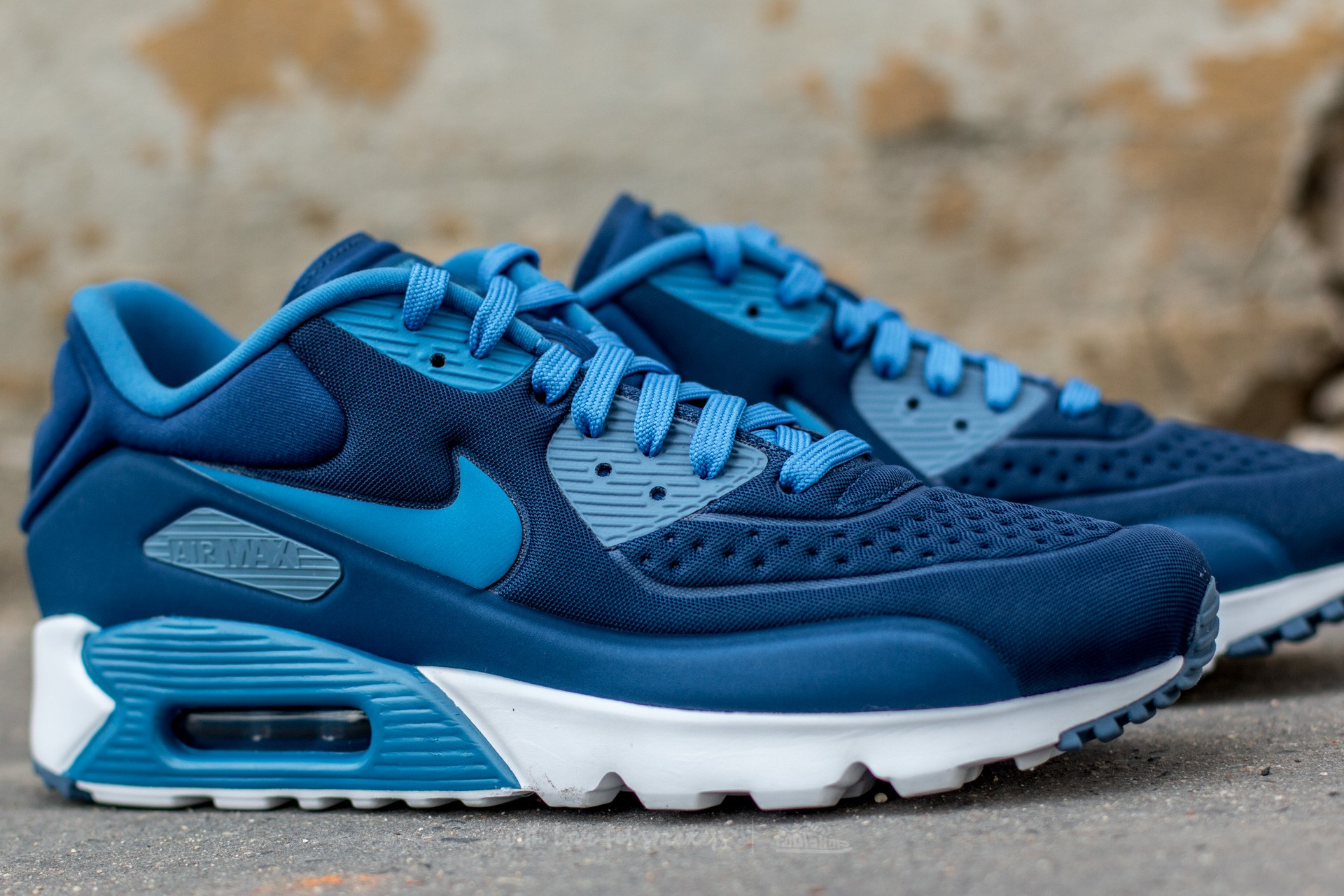 Nike Air Max 90 Ultra SE Coastal Blue Star Blue Ocean Fog White | Footshop