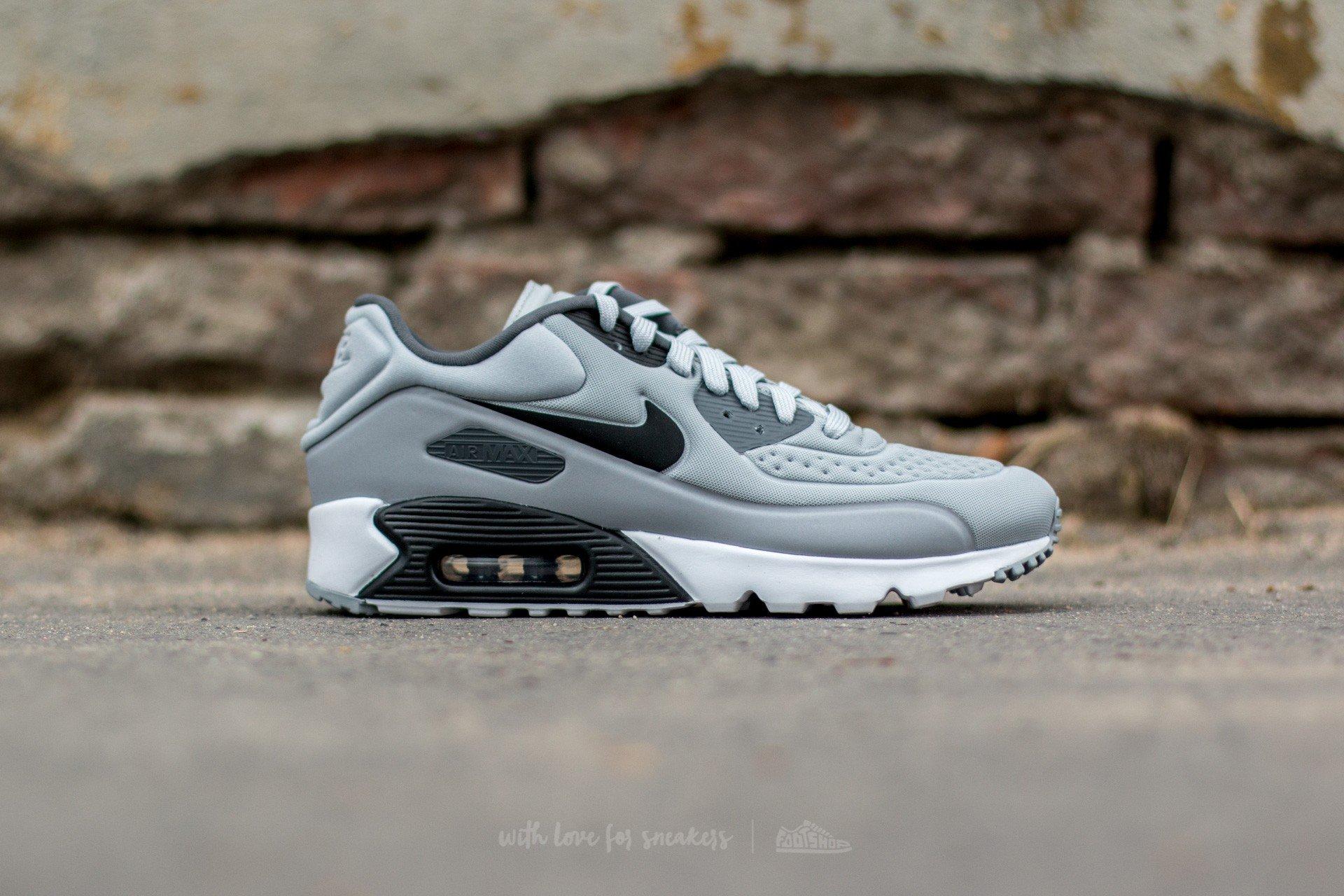 Nike Air Max 90 Ultra SE Wolf Grey Black Dark Grey White | Footshop