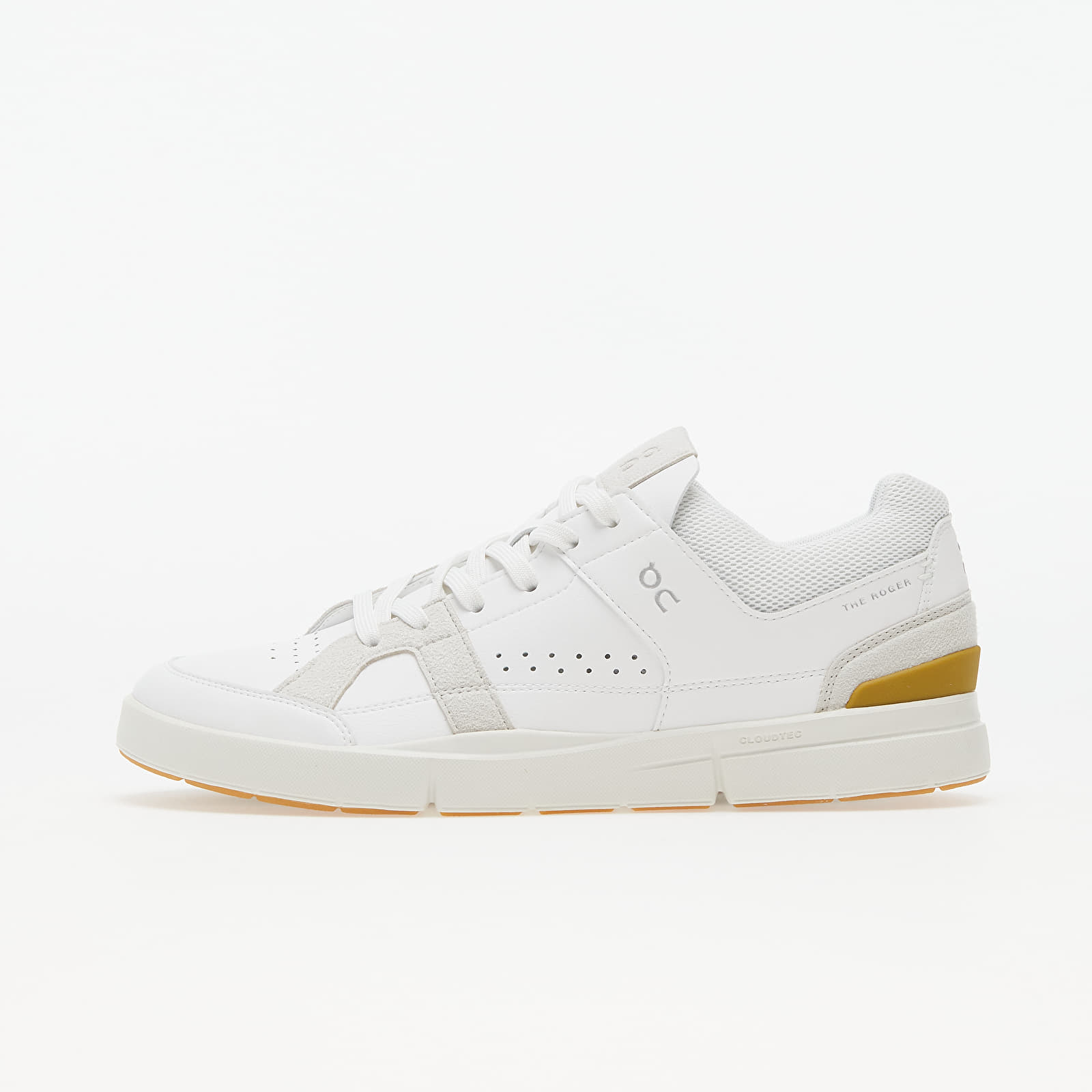 On M The Roger Clubhouse White/ Bronze