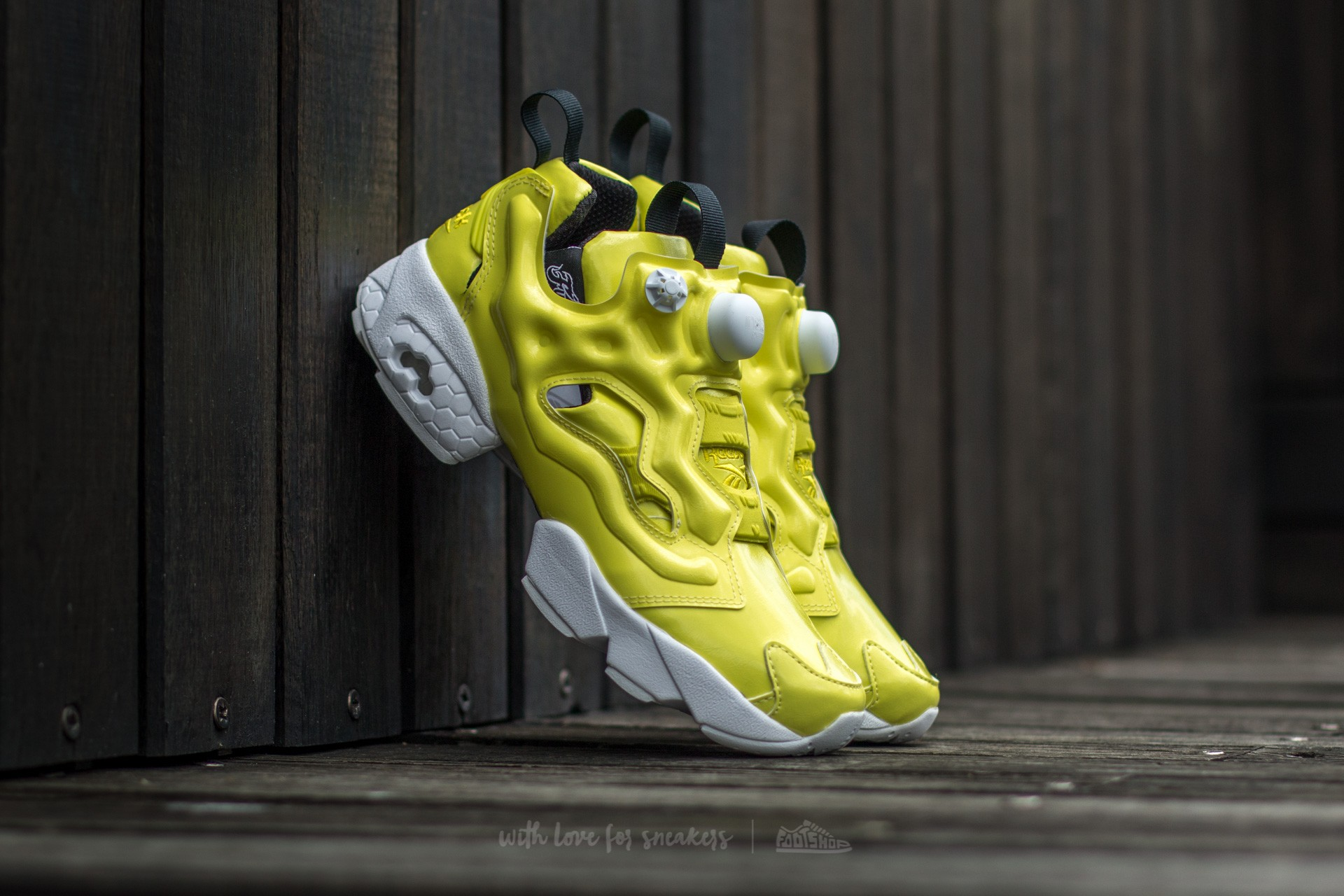d83bfb780ea Reebok Instapump Fury OB Hero Yellow  White  Black