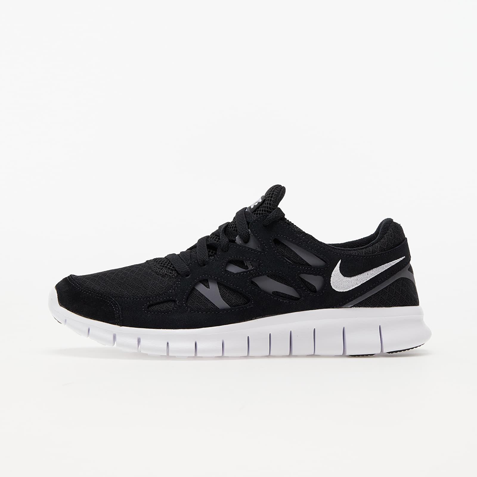 Nike Free Run 2 Black/ White-Dark Grey EUR 40