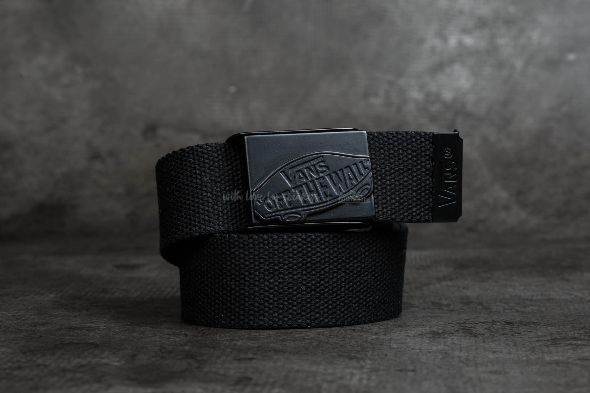 85952463ef Vans Conductor Web Belt Black