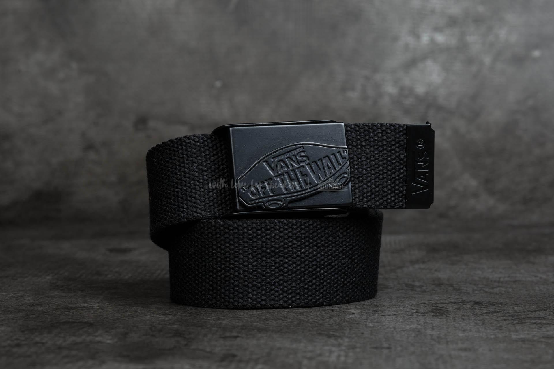 e7c8342ac5ed1a Vans Conductor Web Belt Black