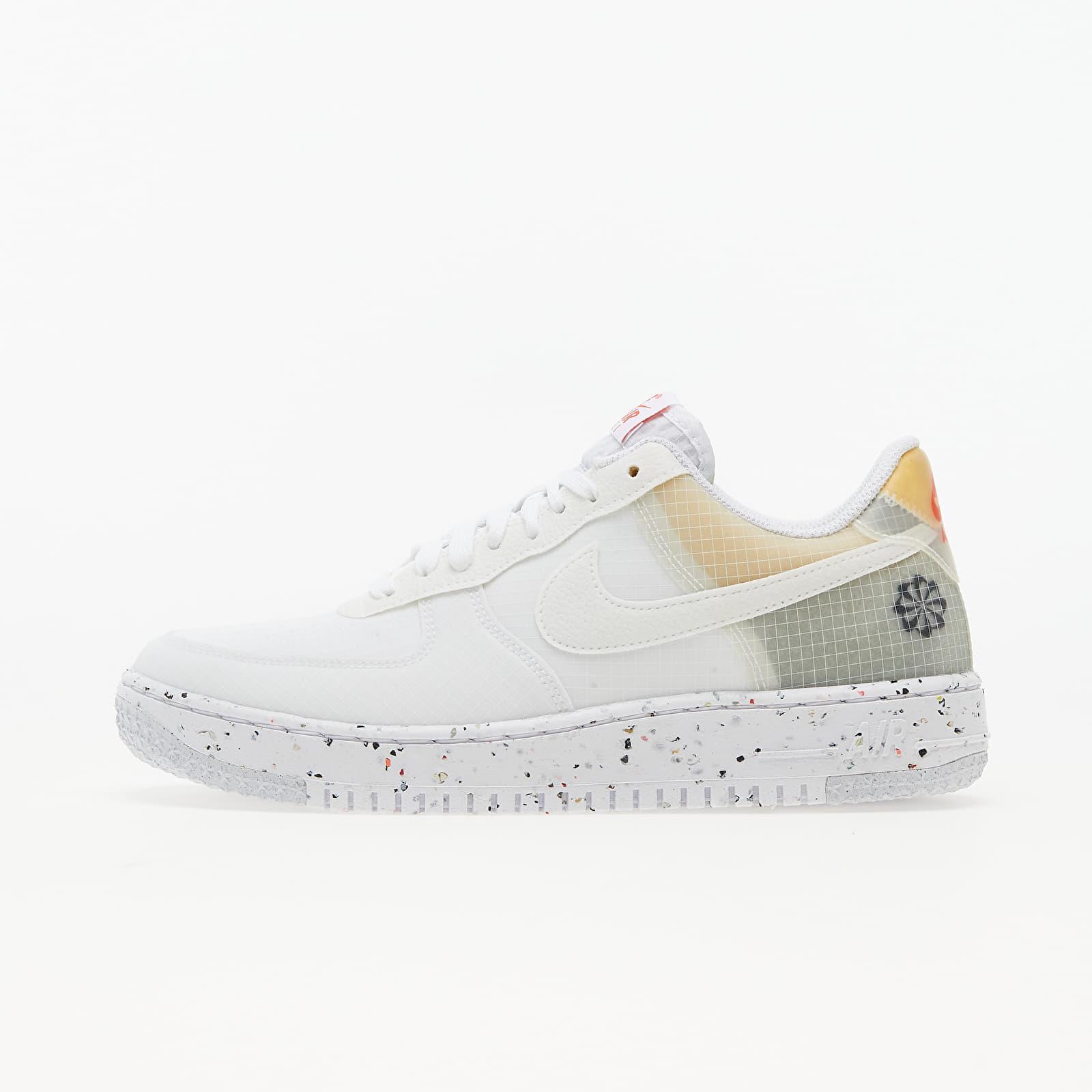 Nike Air Force 1 Crater White/ White-Orange EUR 43