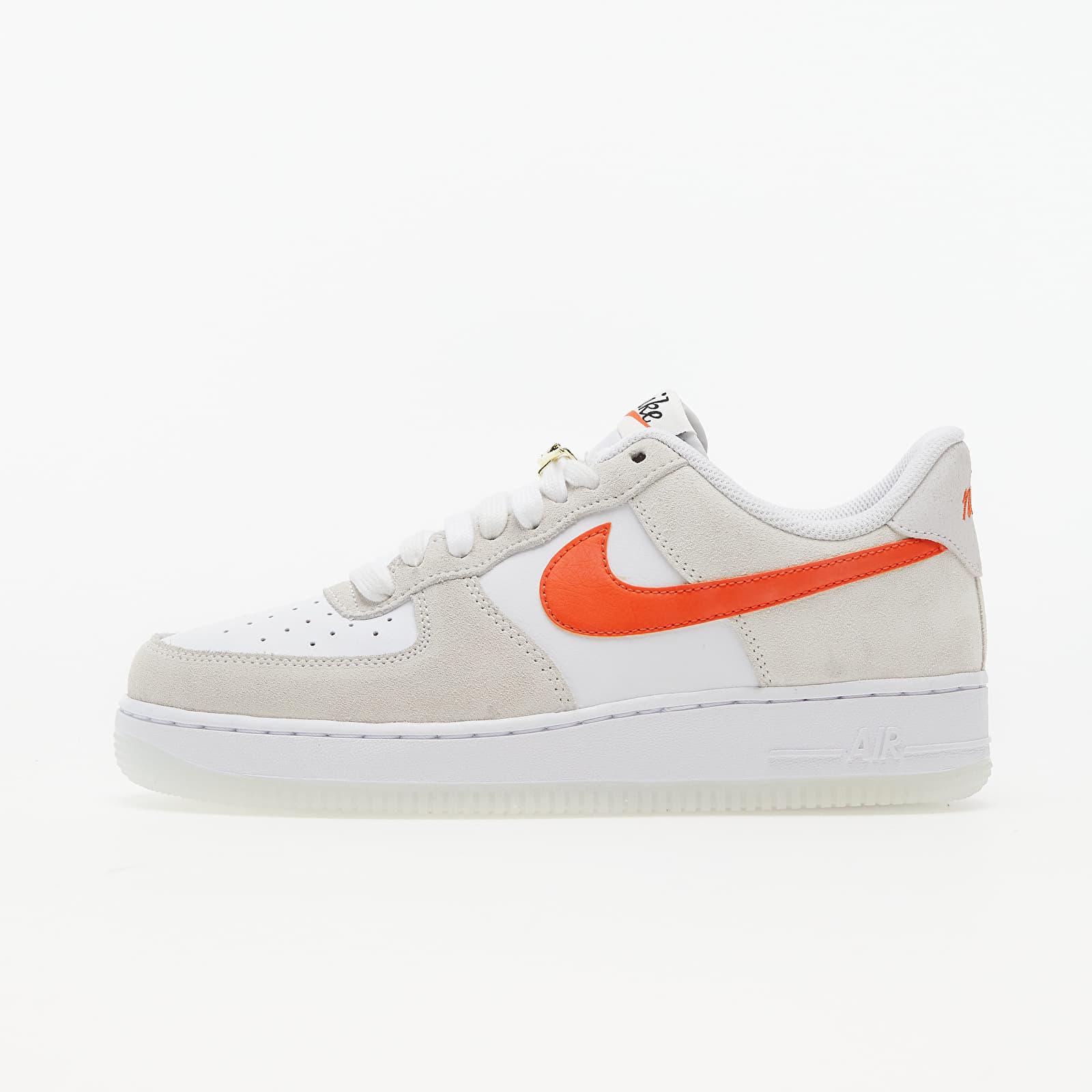 Nike Air Force 1 '07 SE White/ Orange-Summit White-Sail EUR 38