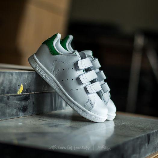 adidas Stan Smith CF I Ftw White/ Ftw White/ Green   Footshop