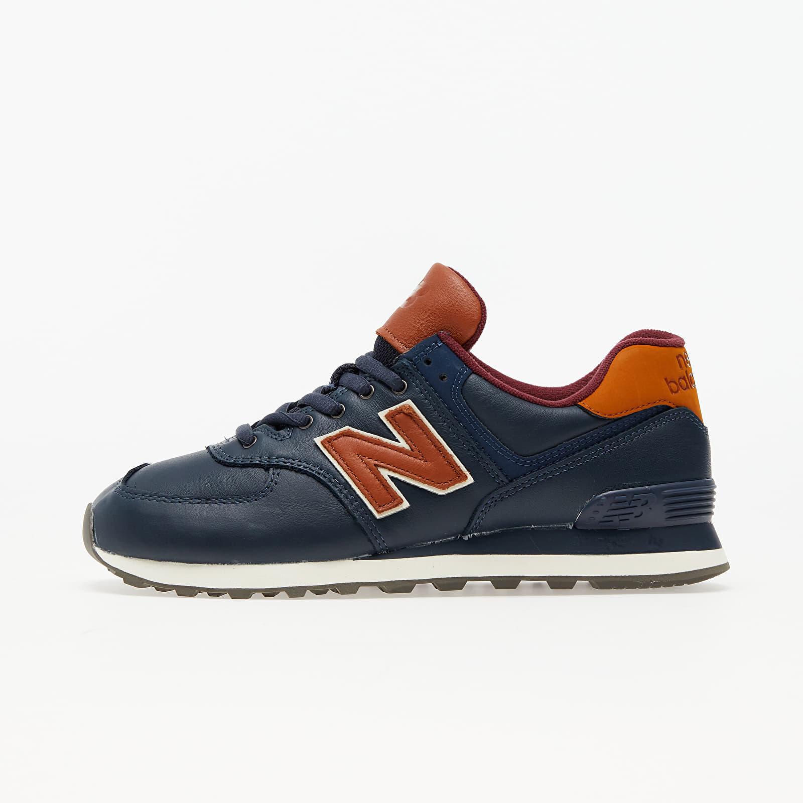 New Balance 574 Natural indigo/ Saddle Brown EUR 44