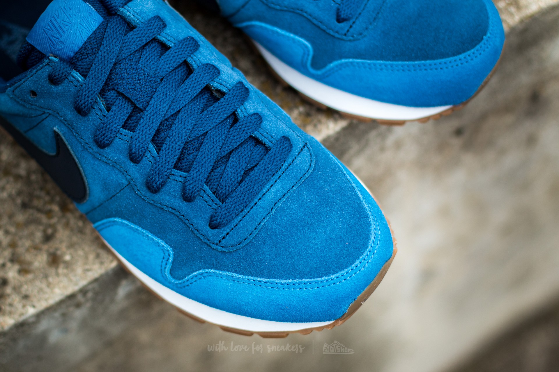 various styles multiple colors temperament shoes Nike Air Pegasus 83 LTR Coastal Blue/ Obsidian-Star Blue ...