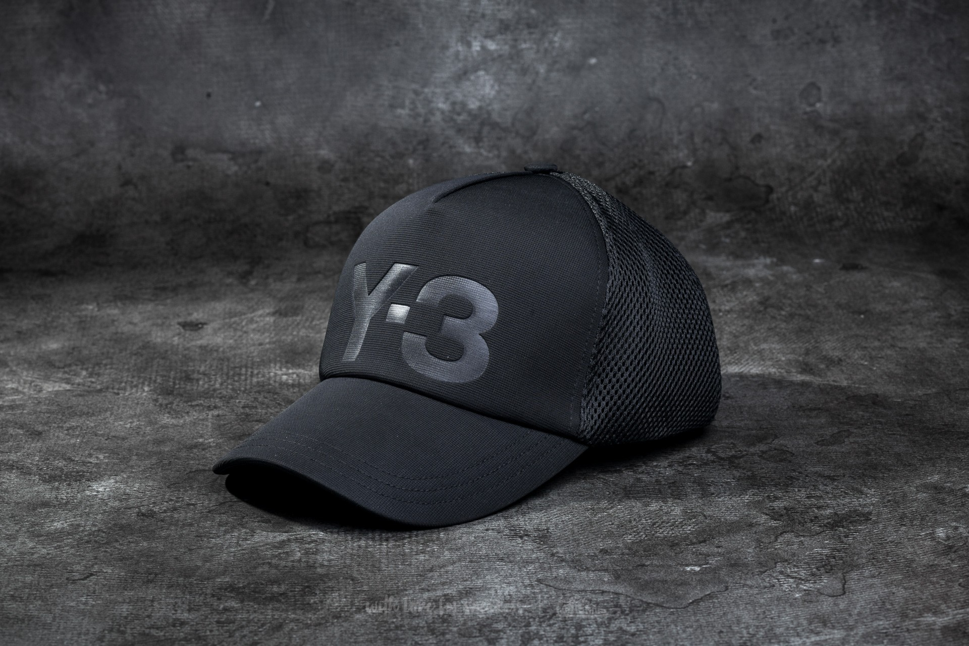 Y-3 Trucker Cap Black  Noir  e764c754eb09