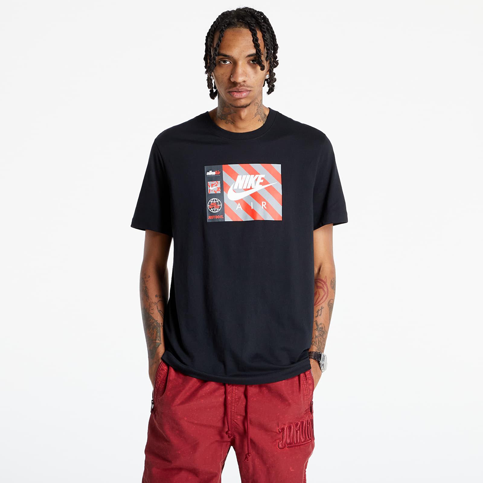 Nike Sportswear M Nsw Tee Swoosh By Air Hbr Black S