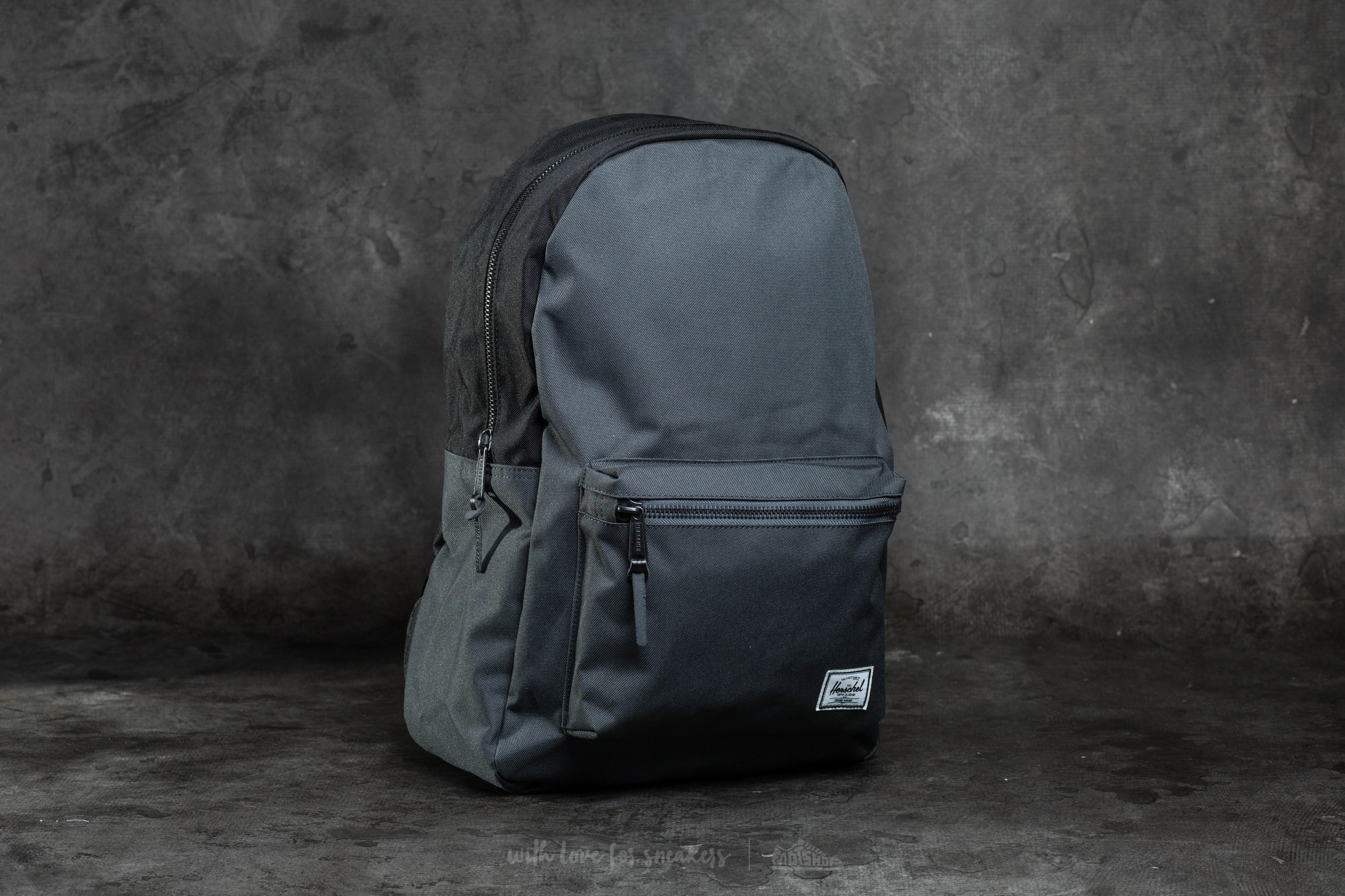 f96a23c9ea Herschel Supply Co. Settlement Backpack Dark Shadow  Black ...