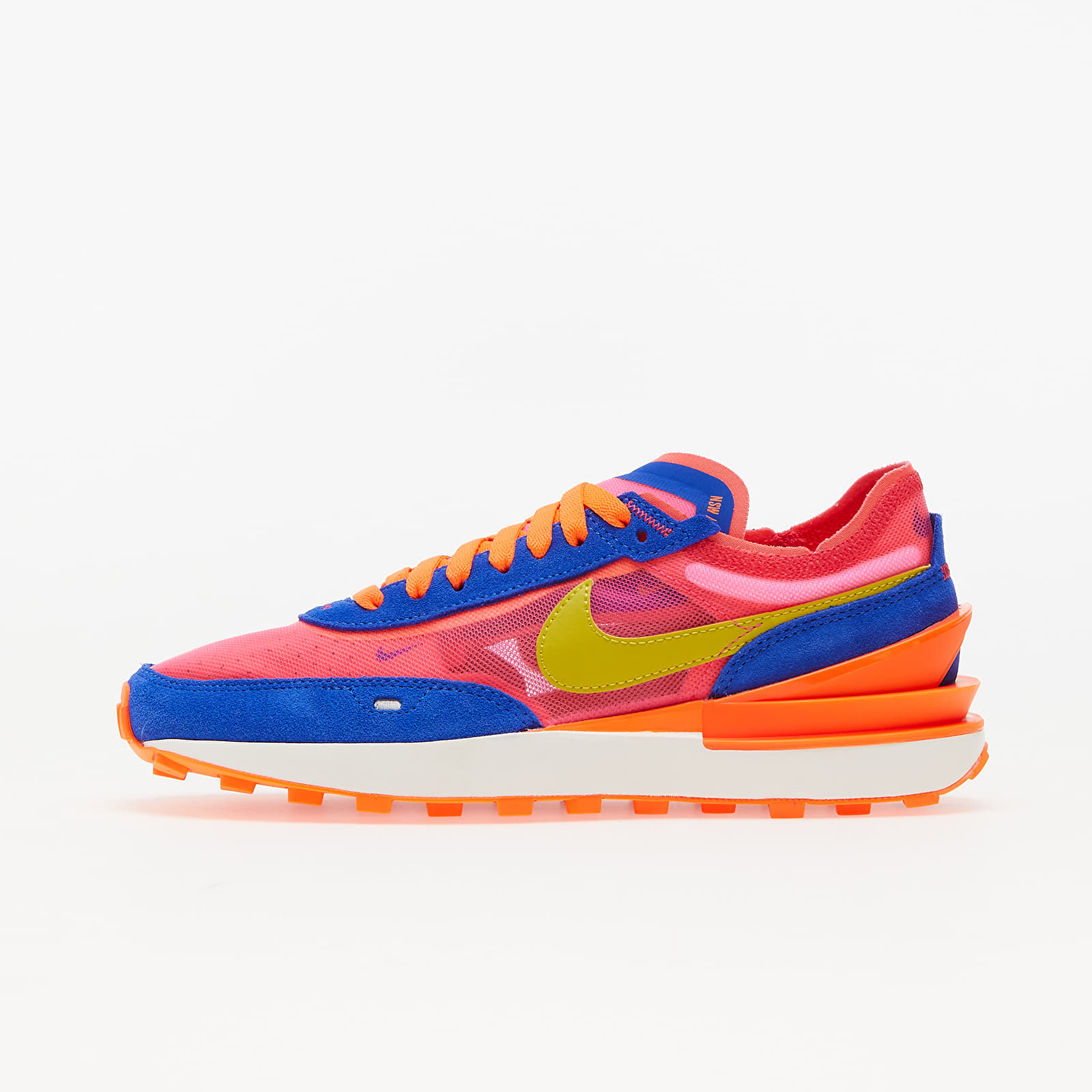 Nike Waffle One Racer Blue/ Bright Citron-Hyper Pink EUR 38.5