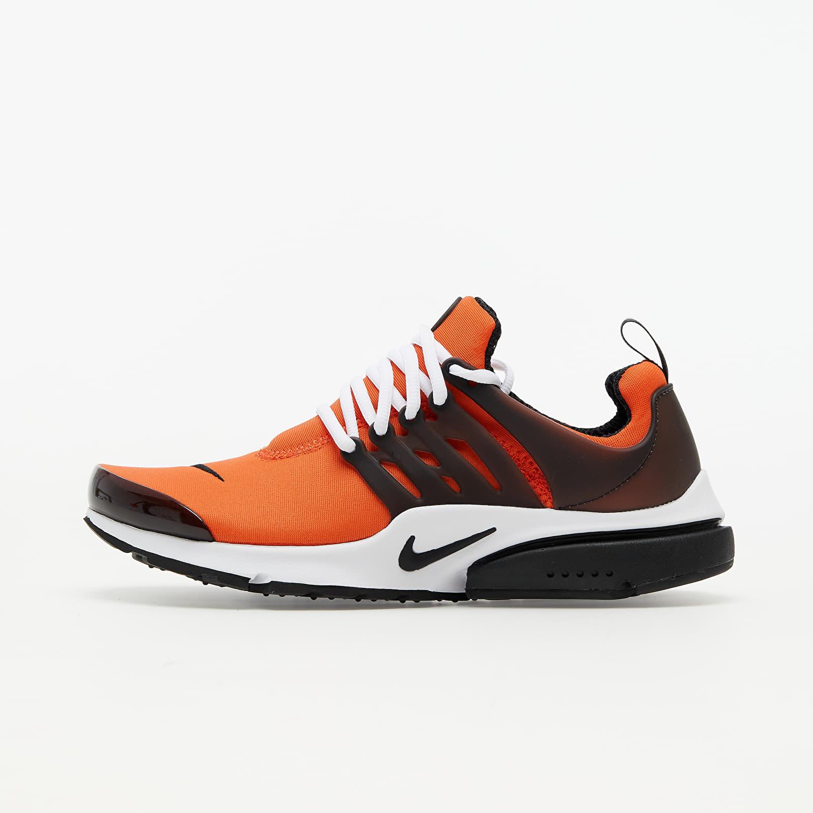 Nike Air Presto Orange/ Black-White EUR 41