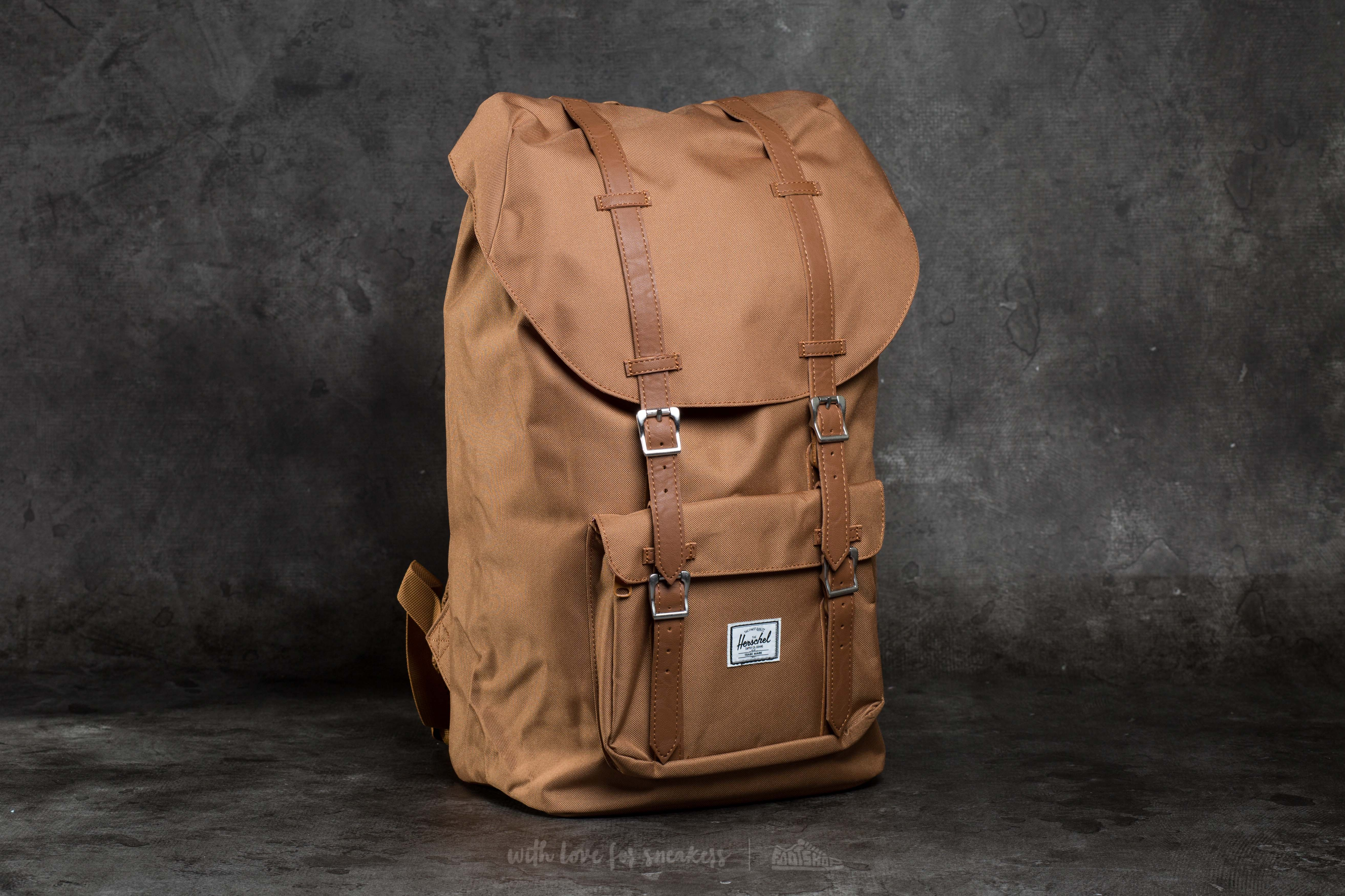 c502379c2d6 ... herschel supply co little america backpack caramel tan synthetic ...