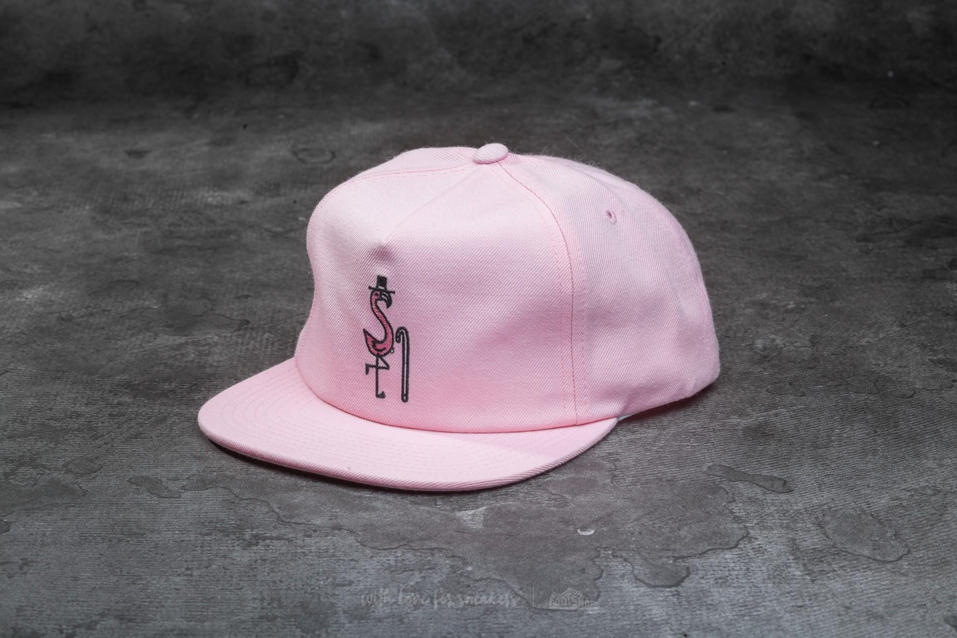 ae5a190d8de Stüssy Flamingo Cap Light Pink