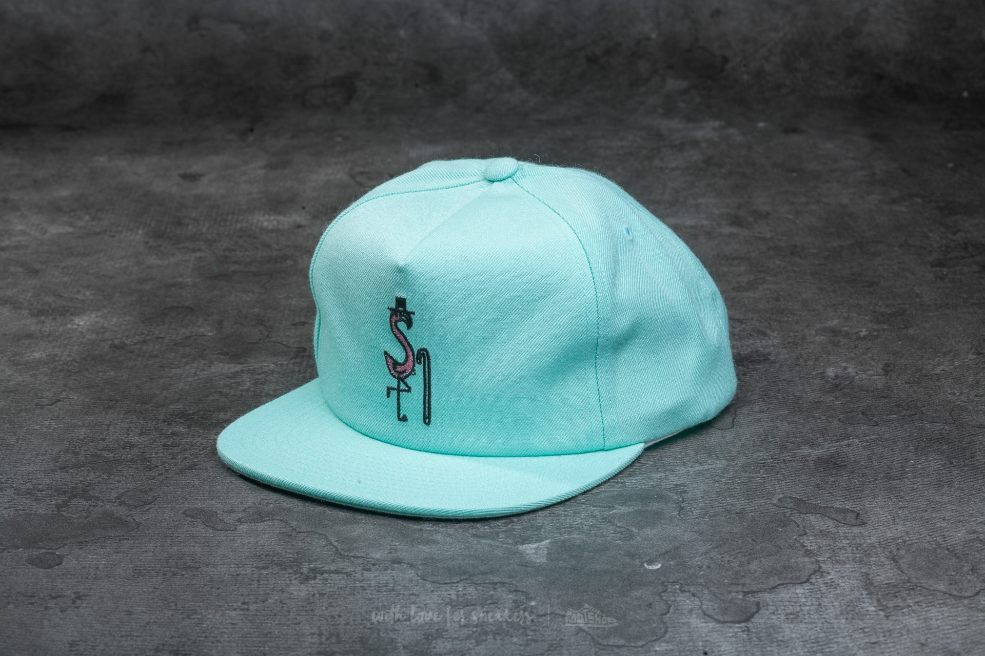20476d292a8 Stüssy Flamingo Cap Mint