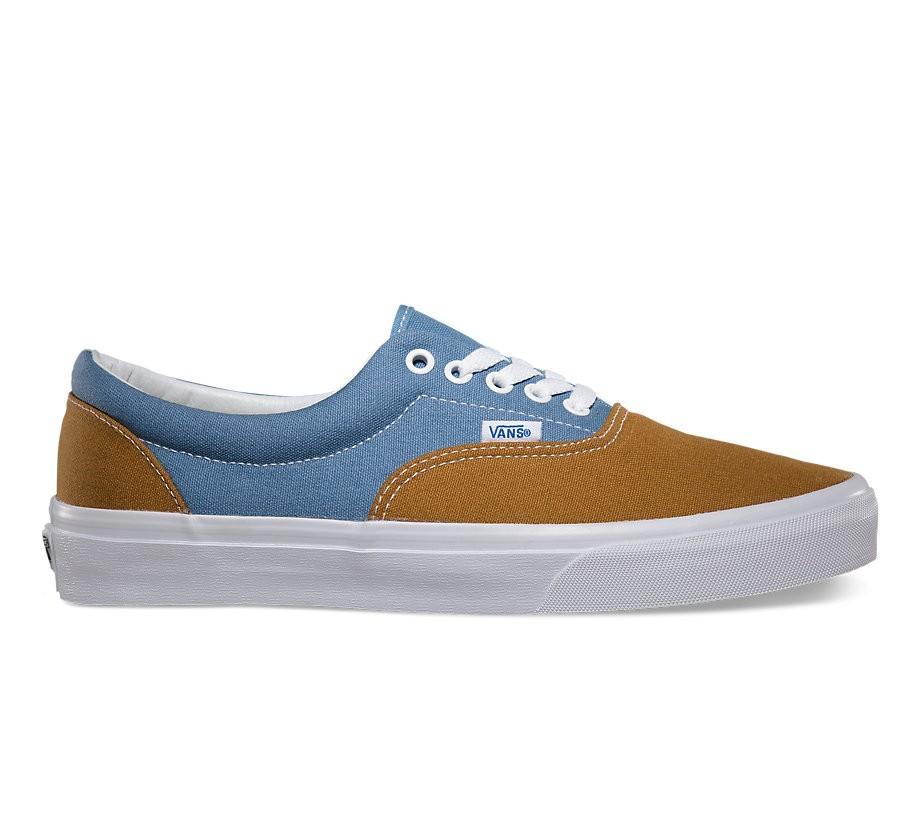 60433d73f8f9 Vans Era (Golden Coast) Golden Brown Blue Shadow