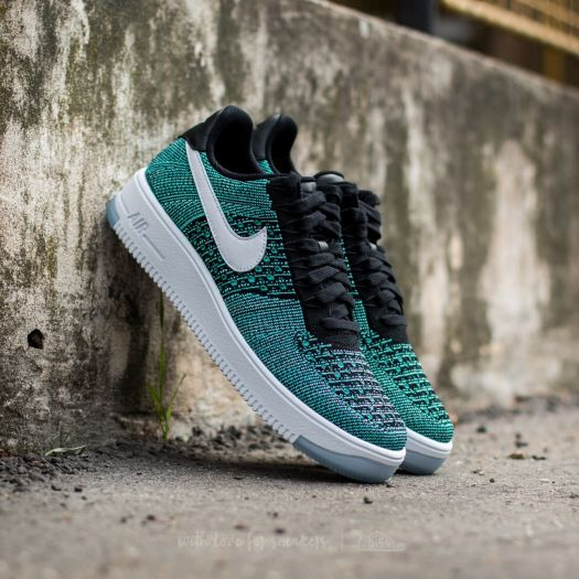 cc16a4b2061e25 ... Nike Air Force 1 Ultra Flyknit Low Hyper Jade White-Black-Hyper  Turquoise Footshop ...