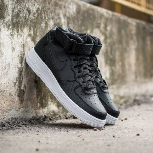 Nike Air Force 1 Mid ´07 Lv8 BlackBlackWhite | Footshop