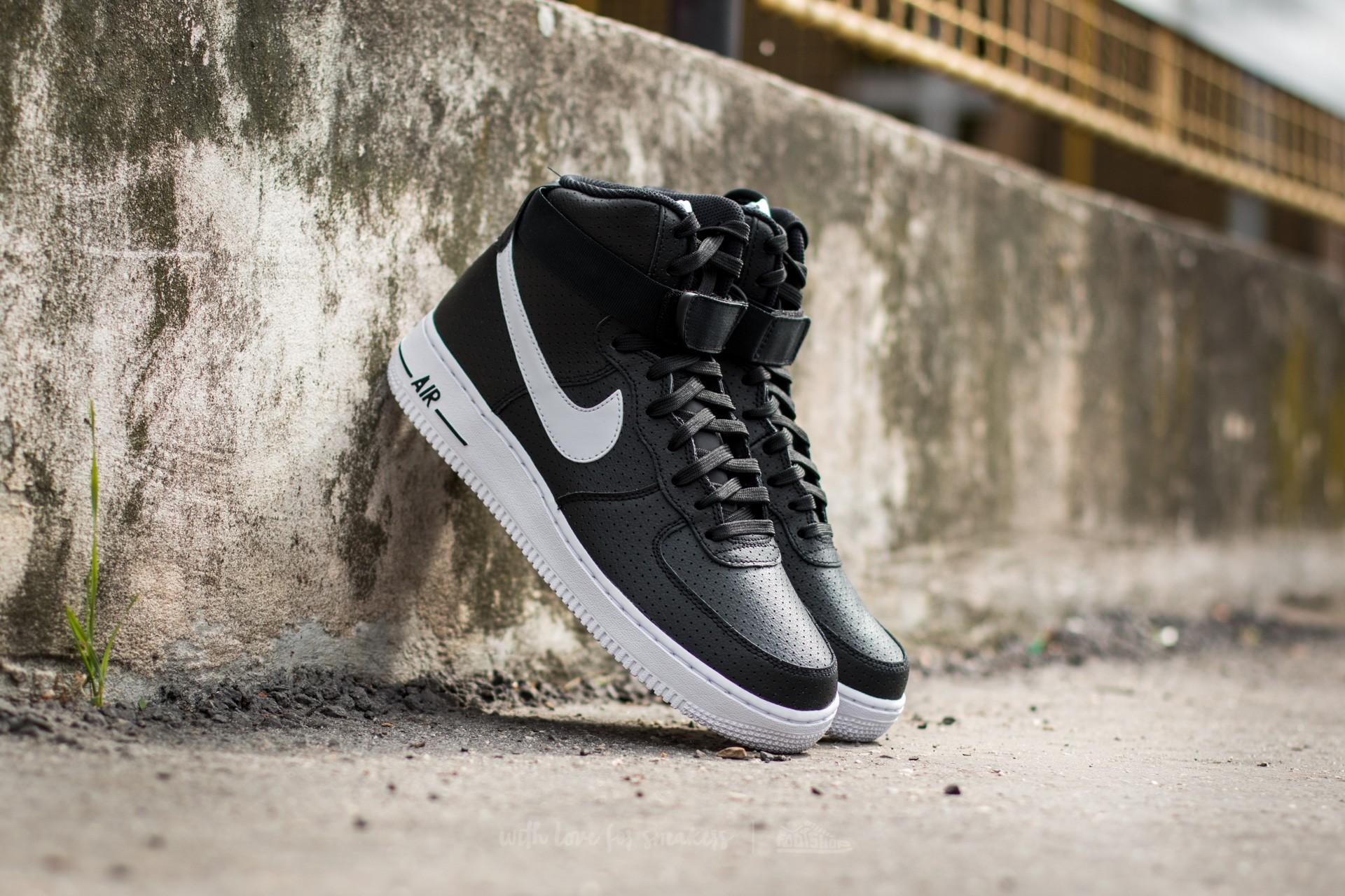 Nike Air Force 1 High ´07 Black  White-White  383ced758