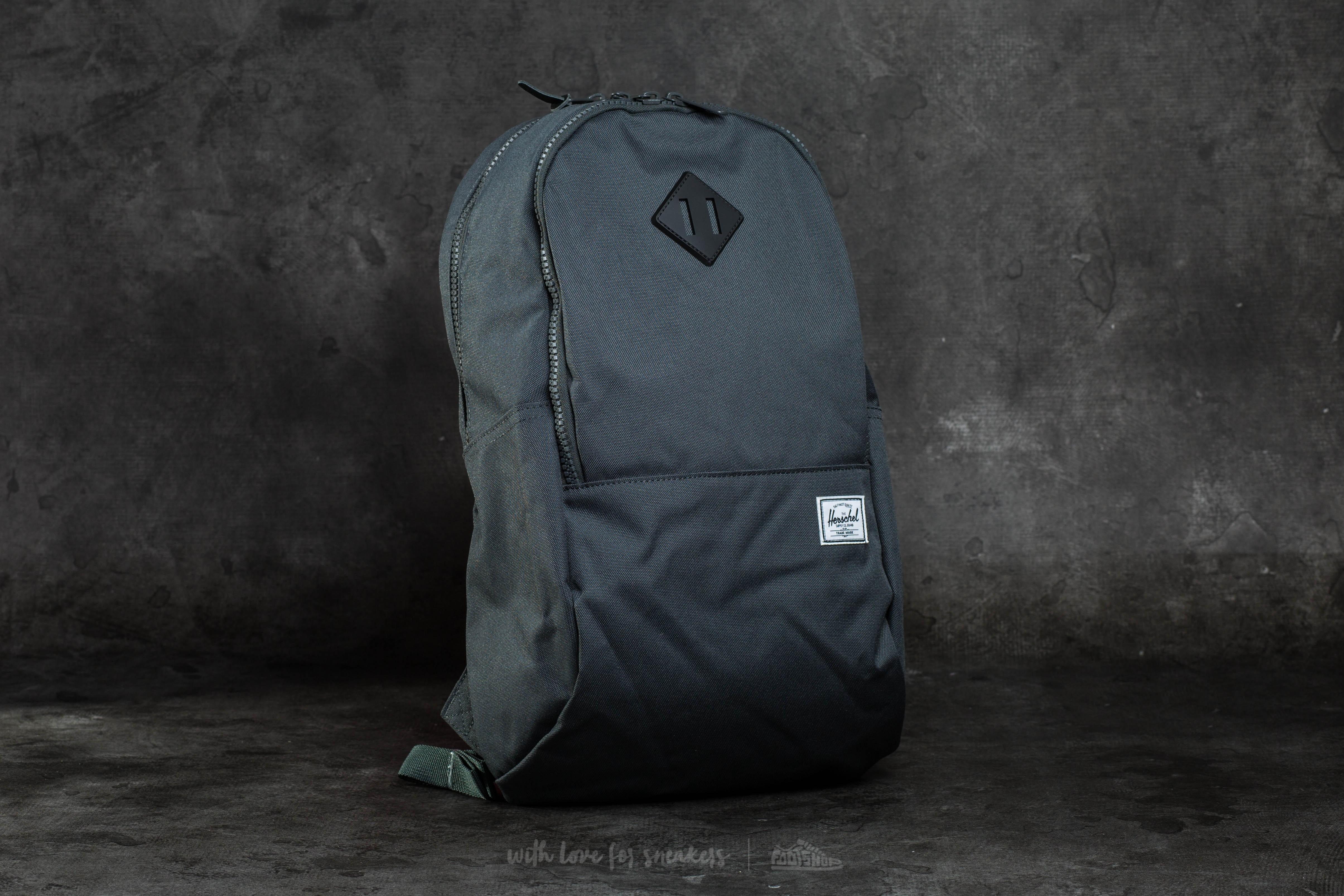 1ad15a1396f Herschel Supply Co. Nelson Backpack Dark Shadow  Black Rubber ...