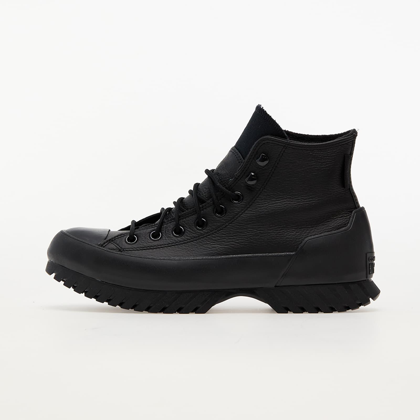 Converse Chuck Taylor All Star Lugged Winter 2.0 Black/ Black/ Bold Mandarin EUR 37.5