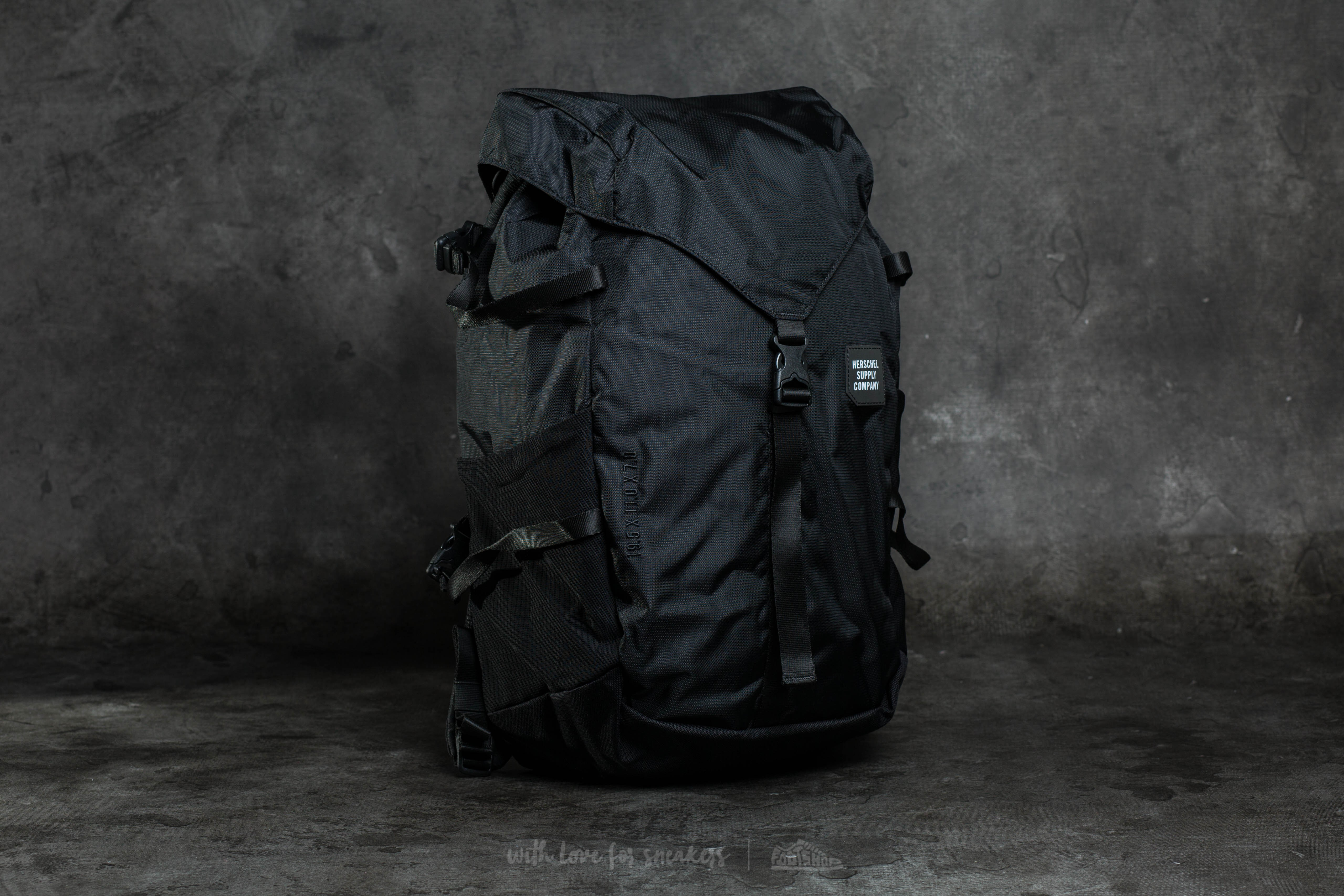 Herschel Barlow Large Backpack Black  006162757c349