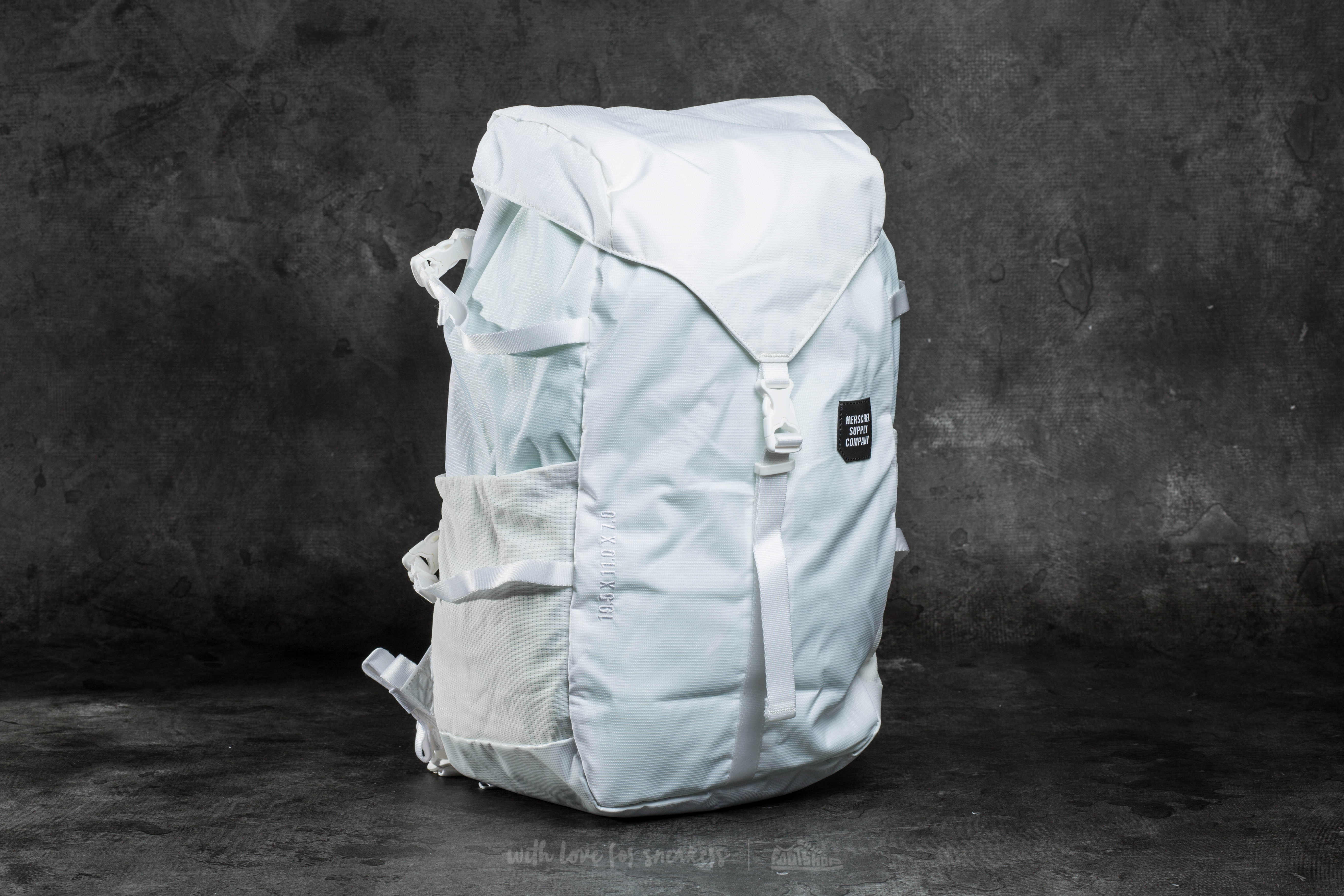 Herschel Supply Co. Barlow Large Backpack White  bd200baaffd9c