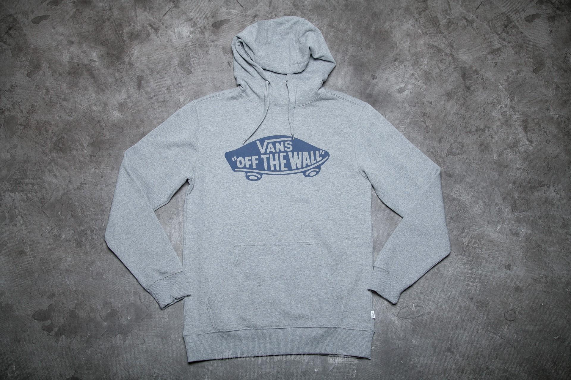 Vans M Otw Pullover Fleece Concrete Heather  Dress Blues  f1812e703b