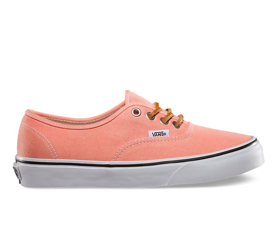 29a9d6bd87 Vans Authentic (Brushed Twill) Fresh Salmon