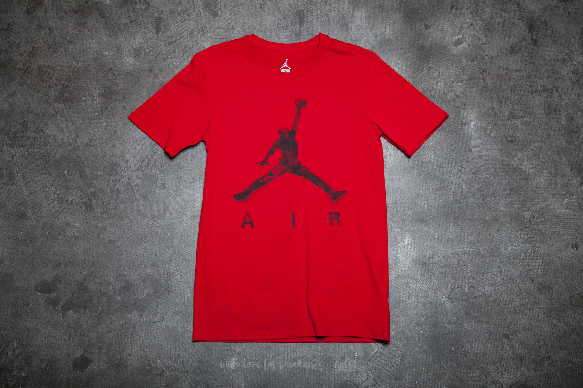 db0018ae1b2f70 Jordan Jumpman Air Dreams Tee Gym Red  Black