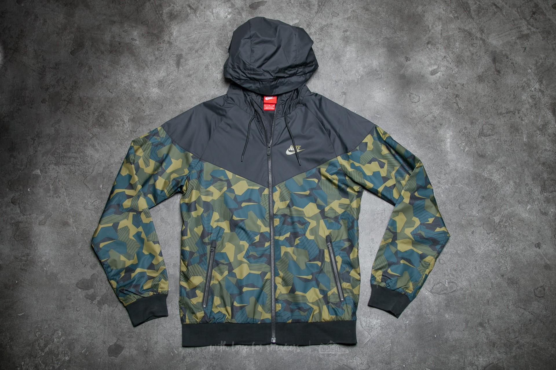 a7d9ea0c74 Nike Sportswear Windrunner AOP Badland Black/ Olive | Footshop