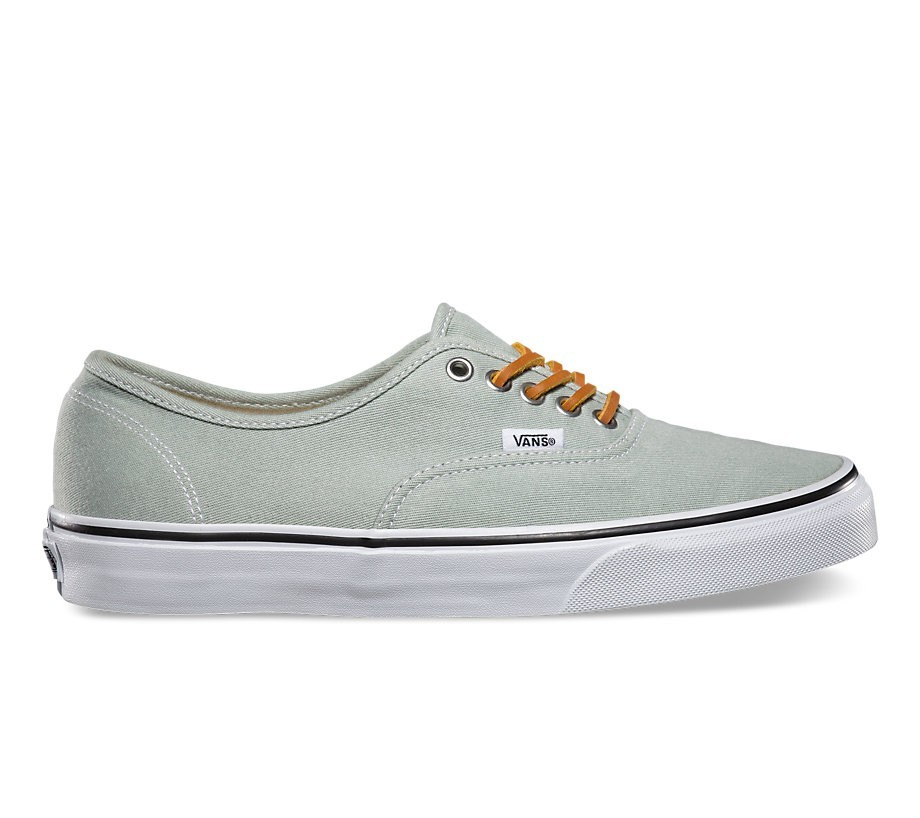 Vans Authentic (Brushed Twill) Granite Green  05d6353ee5fb