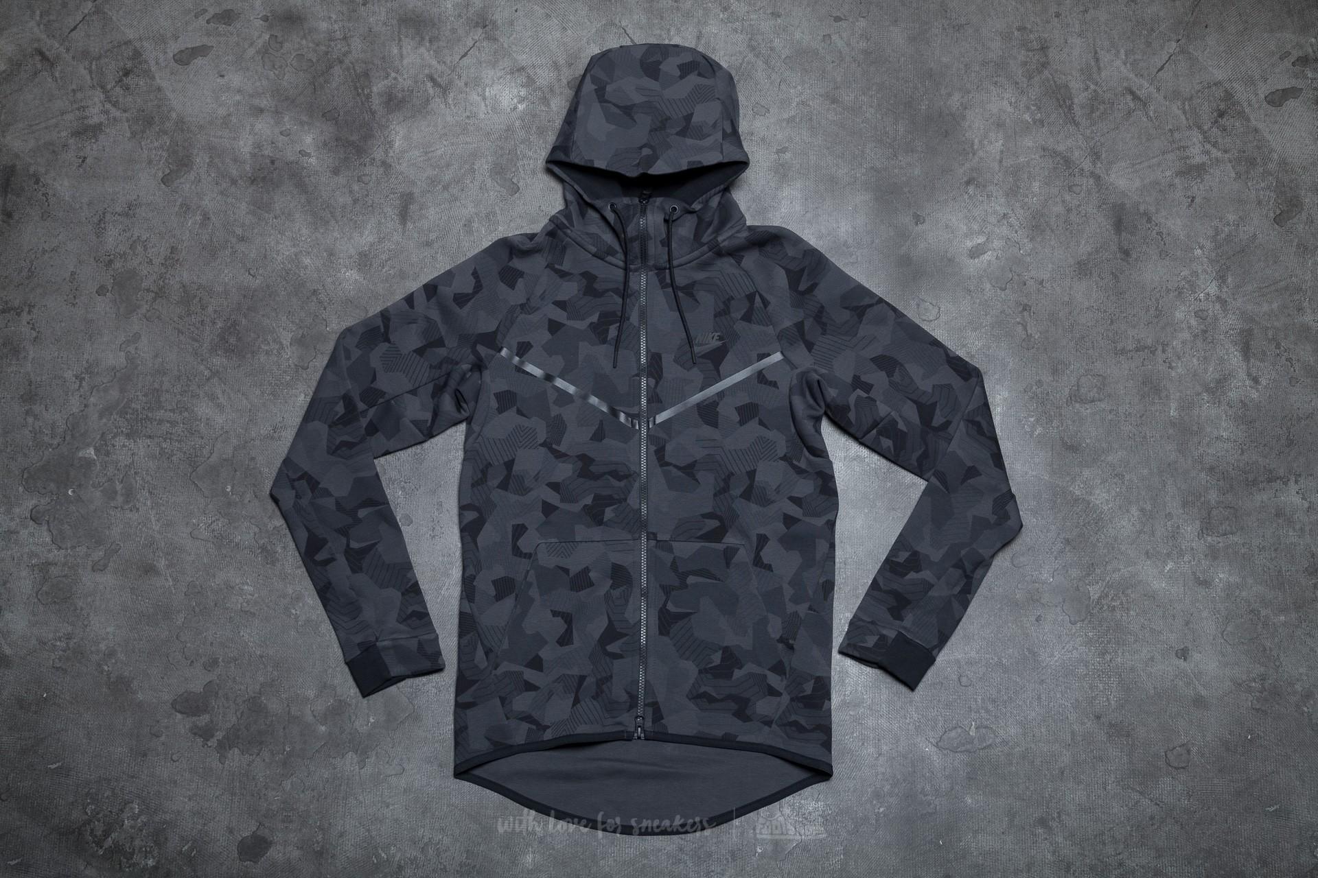 a18ce3c6f0b1 Nike Sportswear Tech Fleece Windrunner Anthracite  Black