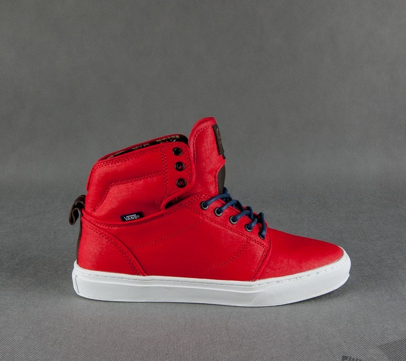 bd365087df Vans Alomar (Soldier) Red White