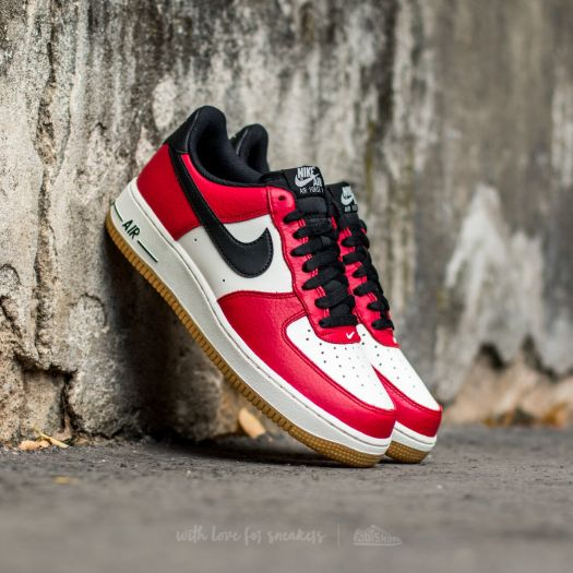 the latest wholesale dealer good selling Nike Air Force 1 Low Gym Red/ Black-Gum Light Brown-Sail ...