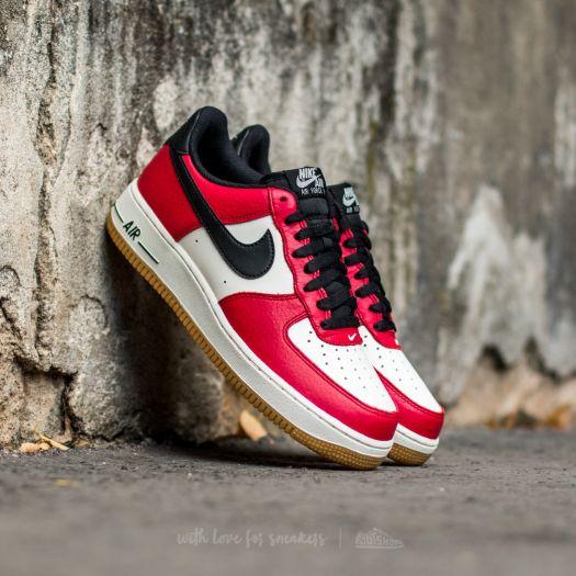 Nike Air Force 1 Low Gym Red Black Gum Light Brown Sail | Footshop