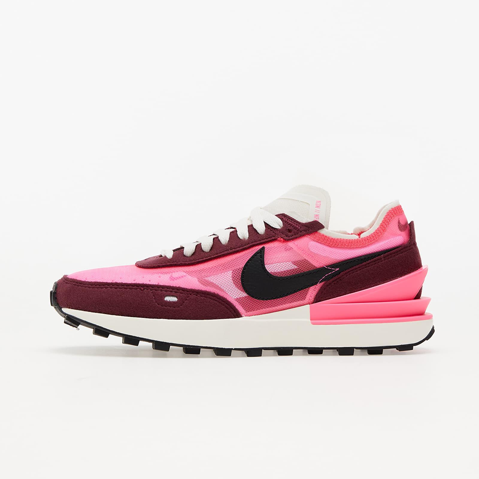 Nike W Waffle One Hyper Pink/ Black-Dark Beetroot-Sail EUR 38.5
