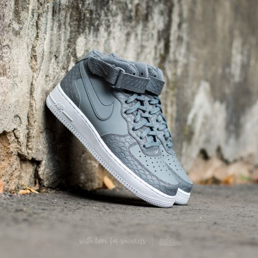 Nike Air Force 1 Mid '07 Lv8 Cool Grey 804609 004