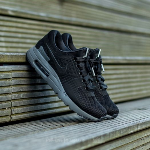 Nike Air Max Zero QS Black  Black-Dark Grey  10f90ff6851d