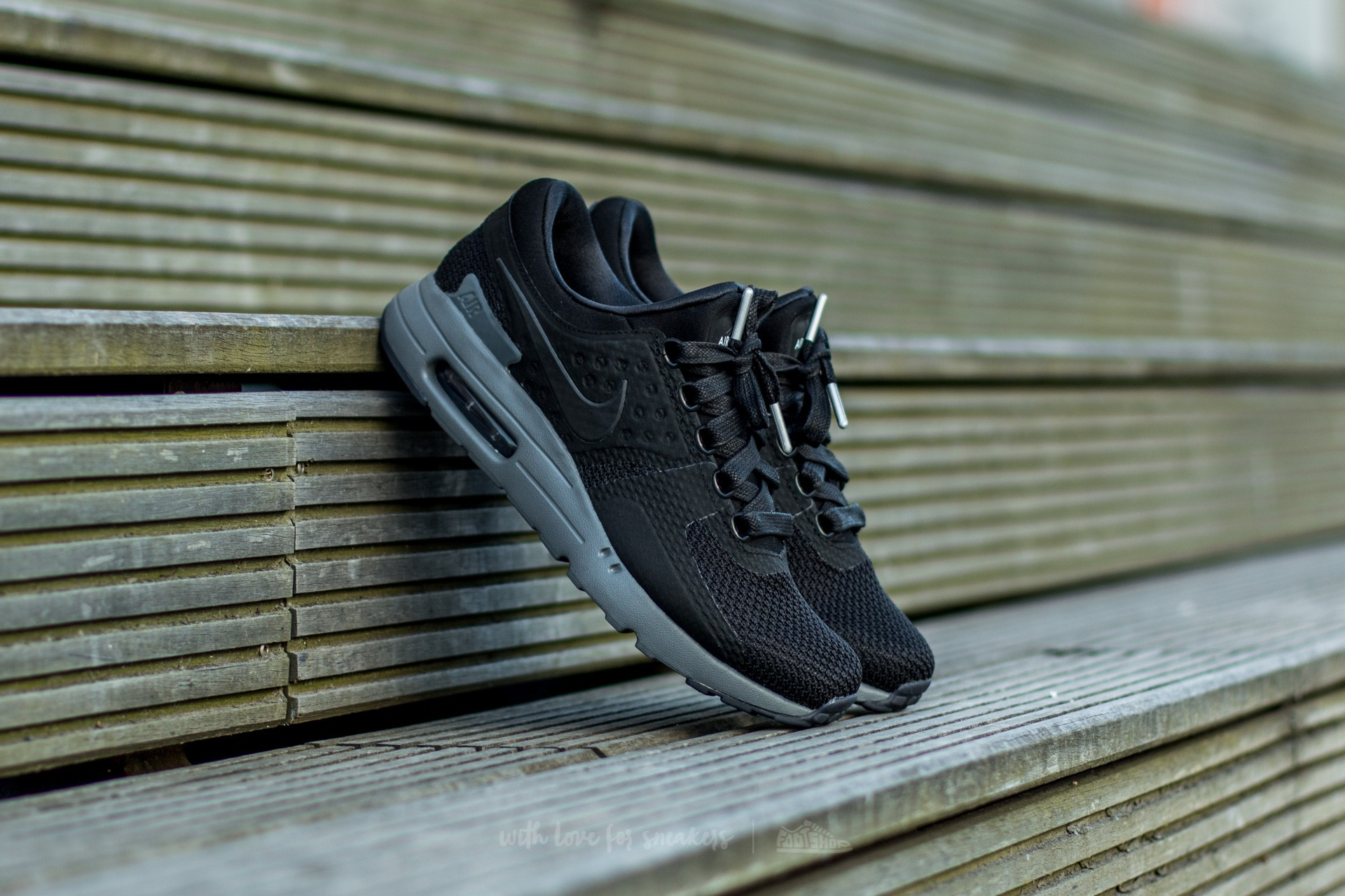 size 40 e3674 51431 Nike Air Max Zero QS. Black  Black-Dark Grey