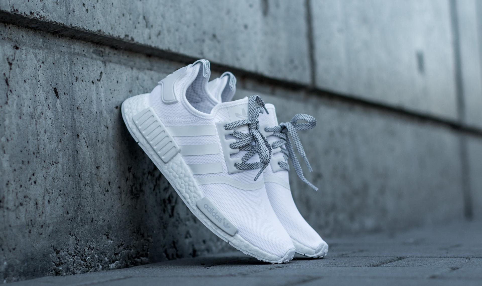 adidas NMD_R1 White/ White/ White EUR 38 2/3