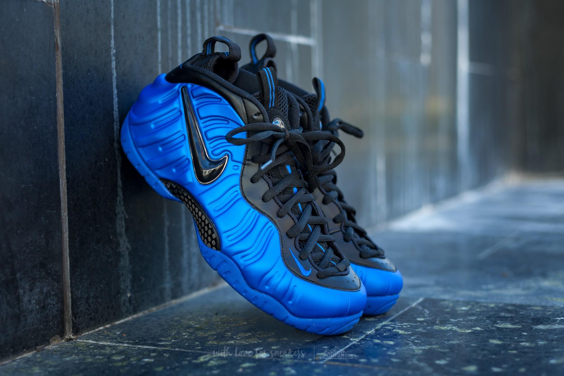 fcd8954489f Nike Air Foamposite Pro Hyper Cobalt  Black-Hyper Cobalt