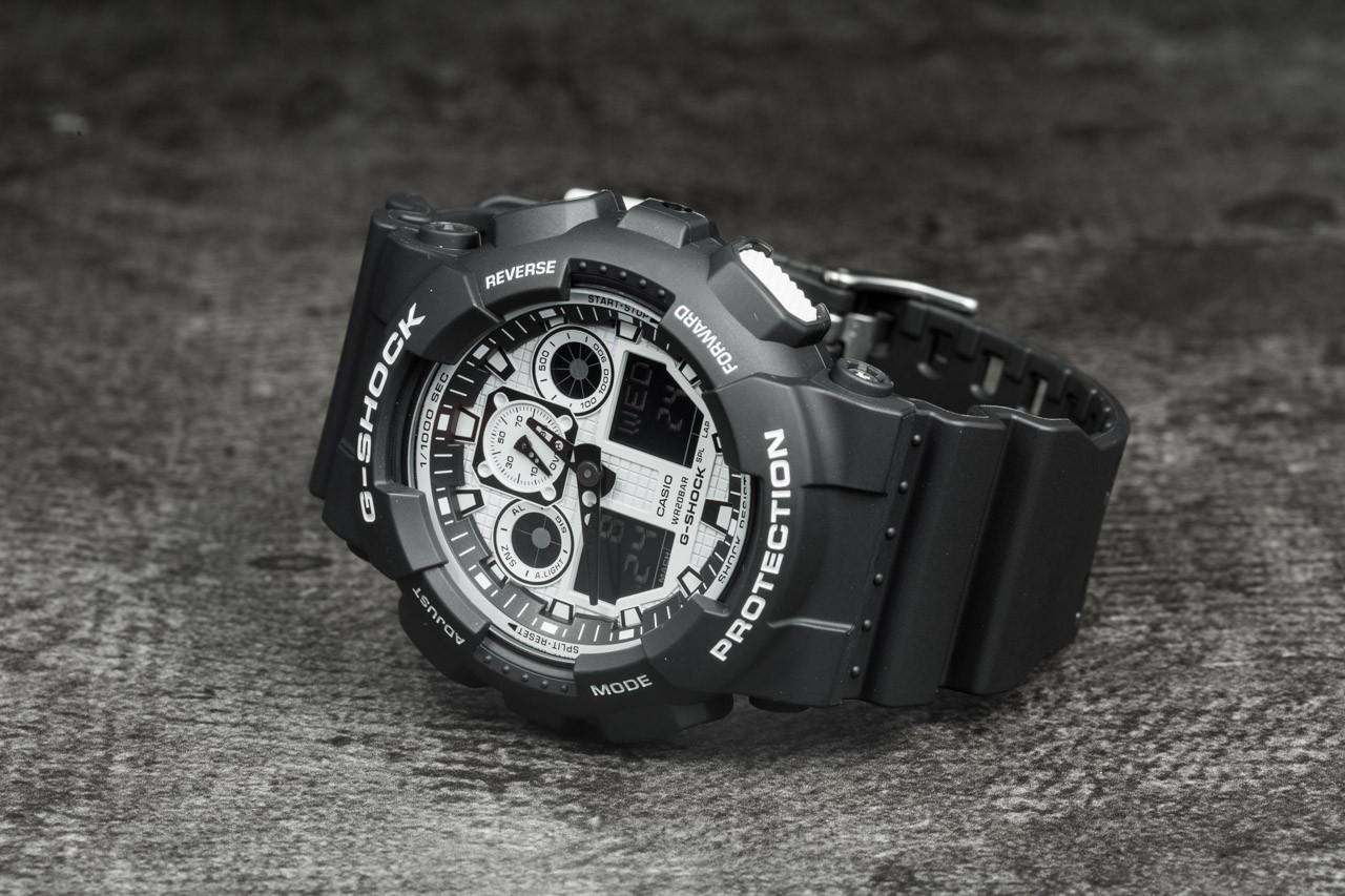 G-Shock GA-100BW-1AER za skvělou cenu 2 290 Kč koupíte na Footshop.cz