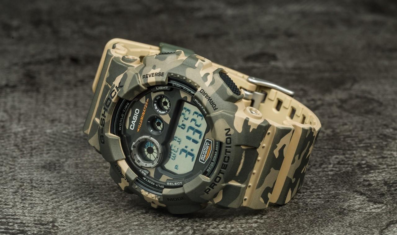 G-Shock GD-120CM-5ER Univerzálna veľkosť