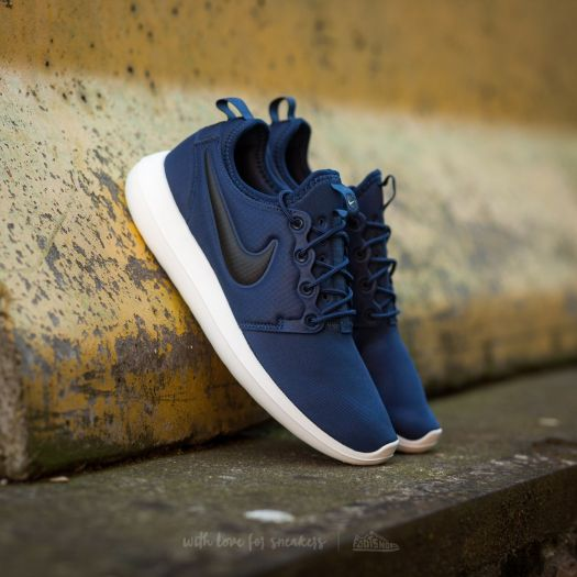 sneakers for cheap 7740e eb48d Nike Roshe Two Midnight Navy/ Black-Sail-Volt | Footshop