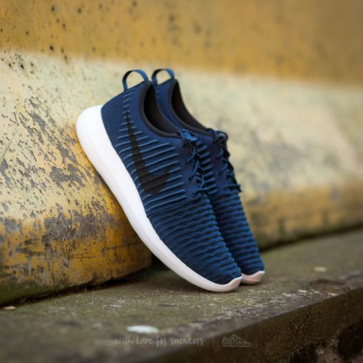 cheap for discount 1b5aa a798a Nike Roshe Two Flyknit College Navy/ Black-White-Squadron ...